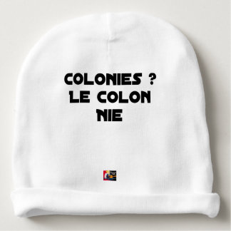 COLONIES, the COLONIST DENIES - Word games Baby Beanie