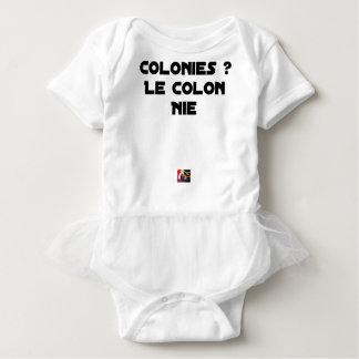 COLONIES, the COLONIST DENIES - Word games Baby Bodysuit