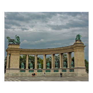 Colonnade of Hungary s Heroes Posters