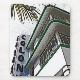 Colony Hotel, Miami, FL Mouse Pad