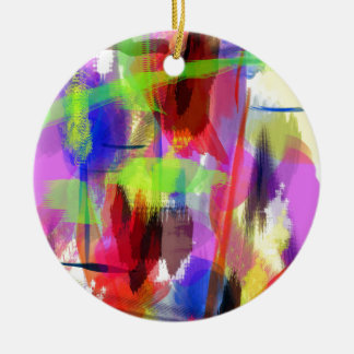 color abstract (8) round ceramic decoration
