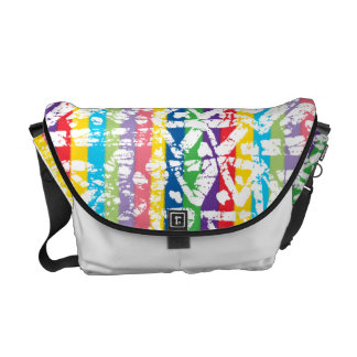 color abstract commuter bag