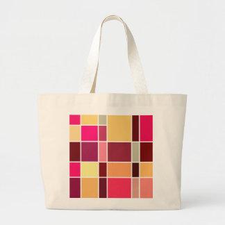 Color Abstract Composition Jumbo Tote Bag