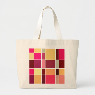 Color Abstract Composition Tote Bags
