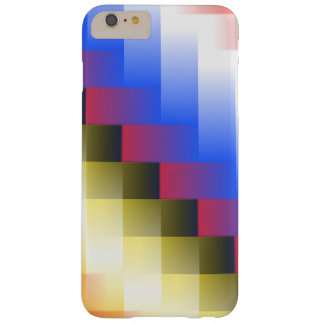 Color Abstraction Barely There iPhone 6 Plus Case