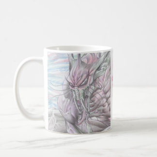 Color Alien Monster Futuristic Sci-Fi Mug - Al Rio