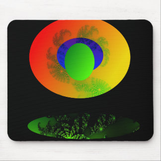 Color and Shapes - Digital Art Mouse Pad