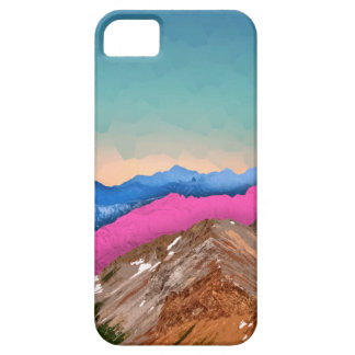 Color Band Mountains iPhone 5 Cases