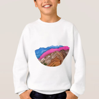 Color Band Mountains Sweatshirt