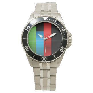 Color Bars Wrist Watches