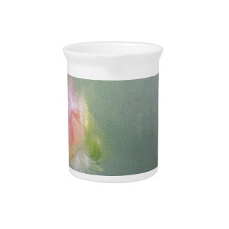 Color beautiful roses poster drink pitchers