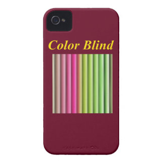 Color Blind iPhone 4 Case