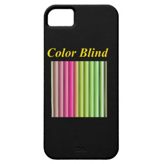 Color Blind iPhone 5 Cover