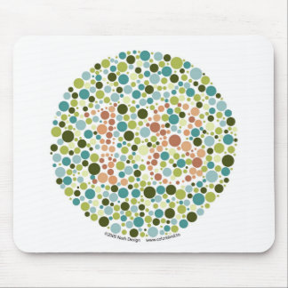 Color Blind Test Mousepad