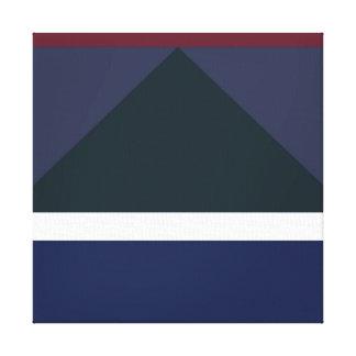 Color Block 002 Stretched Canvas Print