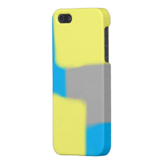 Color Block Abstract Shapes Phone Case iPhone 5 Cover