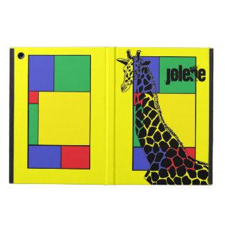 Color Block Giraffe II - iPad Air Case