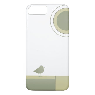 Color Block Seagull Phone Case