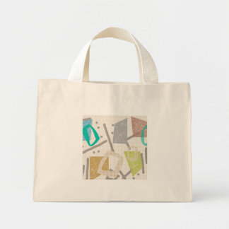 Color Block Tiny Tote