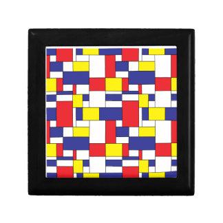 color blocks gift box