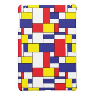 color blocks iPad mini cover
