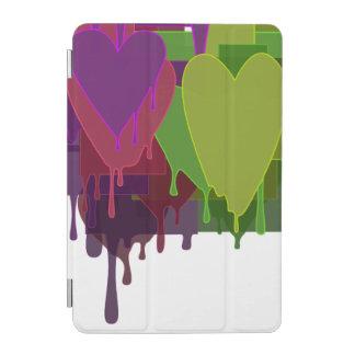 Color Blocks Melting Hearts iPad Mini Cover