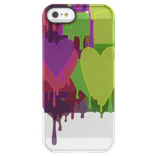 Color Blocks Melting Hearts Permafrost® iPhone SE/5/5s Case