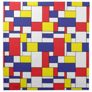 color blocks napkin