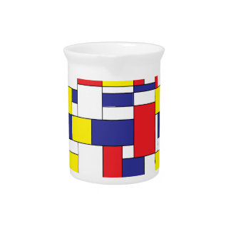 color blocks pitcher