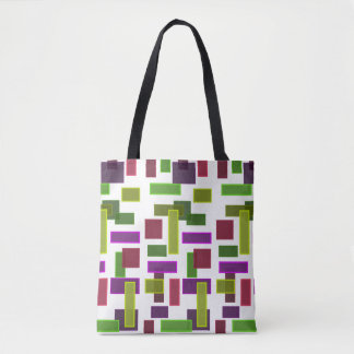 Color Blocks Tote Bag