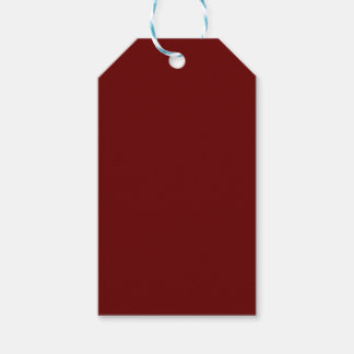 color blood red gift tags