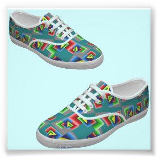 Color Box Shoes Photograph