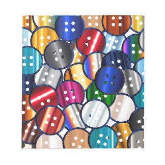 Color Button Collection Notepad