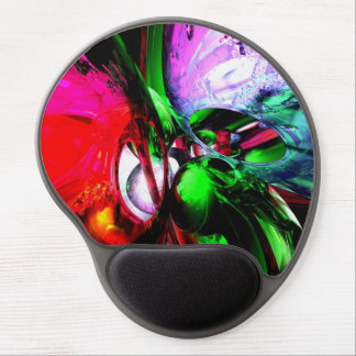 Color Carnival Abstract Gel Mouse Pad