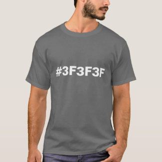 Color Code Dark Grey Shirt