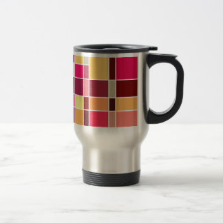 Color Composition Stainless Steel Travel Mug