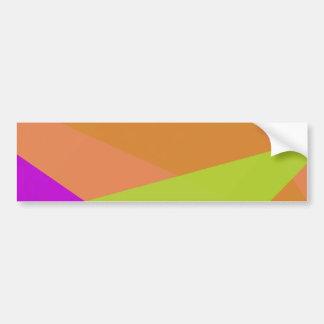 Color Contrast Bumper Sticker