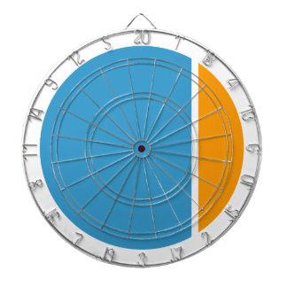 color crush circles dartboard
