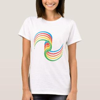 Color Curves: Vector Illustration: T-Shirt