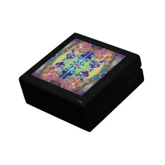 Color Design in the Abstract Small Square Gift Box