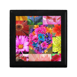 Color Display of flowers Gift Box