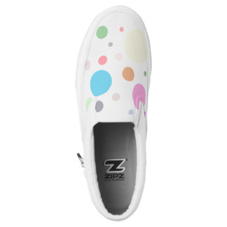 """""""Color Dots"""" Printed Shoes"""
