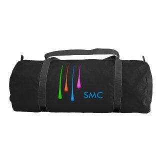 Color Drips Gym Bag
