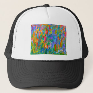 Color Drops Trucker Hat