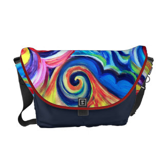 Color Explosion Commuter Bag