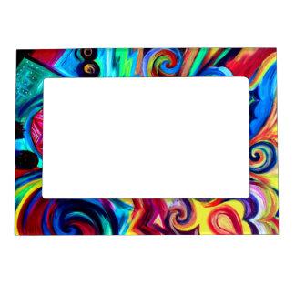 Color Explosion Magnetic Frame