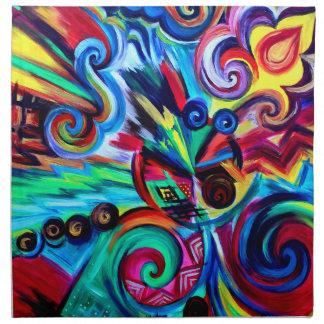 Color Explosion Napkin
