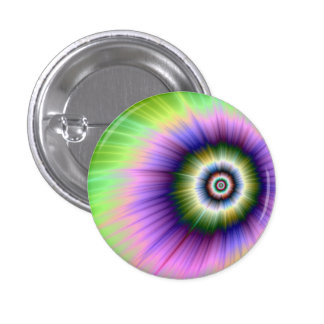 Color Explosion Tie-dyed Button
