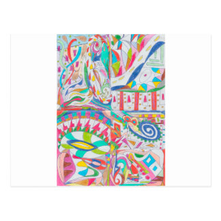 COLOR EYE CANDY COLLECTION 102 POSTCARD