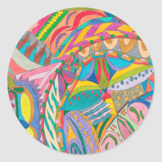COLOR EYE CANDY COLLECTION 106 CLASSIC ROUND STICKER